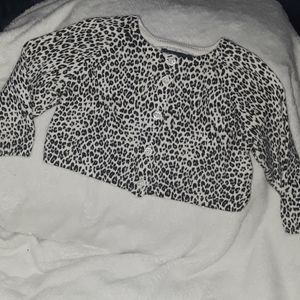 2 Piece Baby Girl Cardigan and Pants Lot